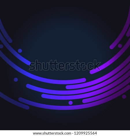 Abstract colorful line background vector