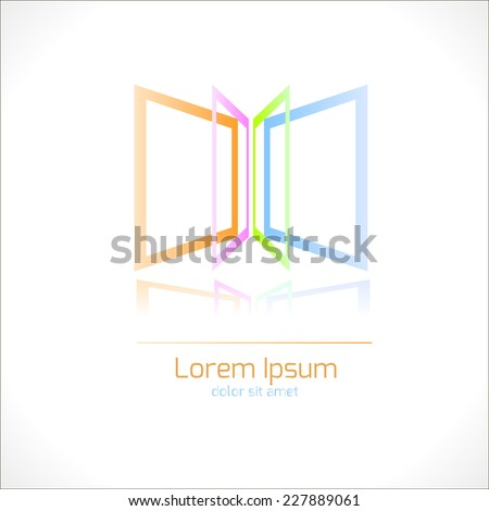 abstract colorful logo vector