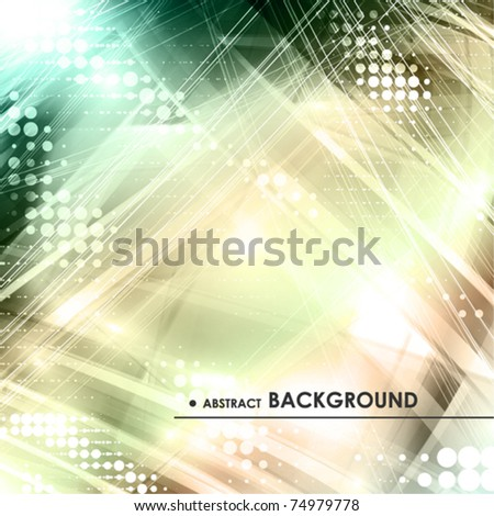 Abstract colorful metallic digital background. Vector