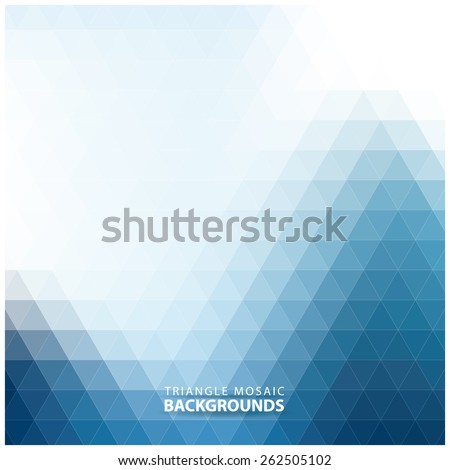 Abstract colorful mosaic background.