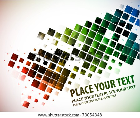 abstract colorful mosaic pattern design, vector illustration.