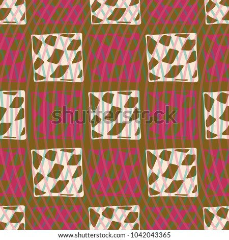 Abstract colorful pattern for background. Decorative backdrop can be used for wallpaper, pattern fills, web page background, surface textures. #1042043365