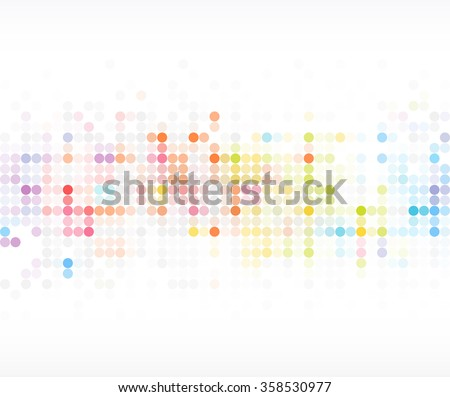 Shutterstock abstract colorful polka dot pattern background
