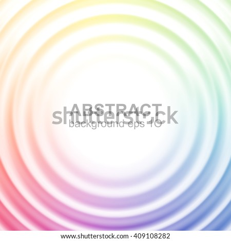 abstract colorful rippled