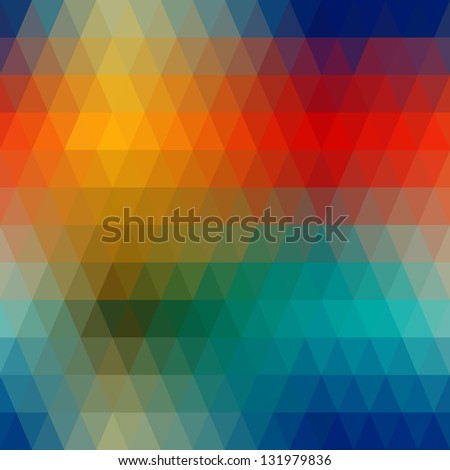 Abstract colorful seamless from geometric shapes.