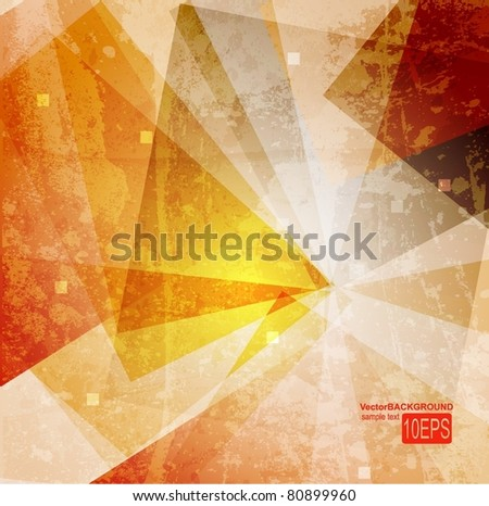 Abstract colorful technology vector background