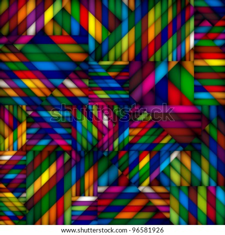 Abstract colorful textile seamless pattern.