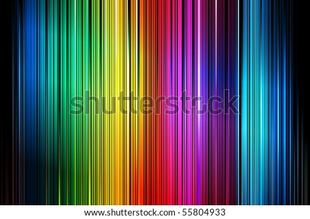 Abstract Colorful Vector Vertical Striped Pattern Background With Blures