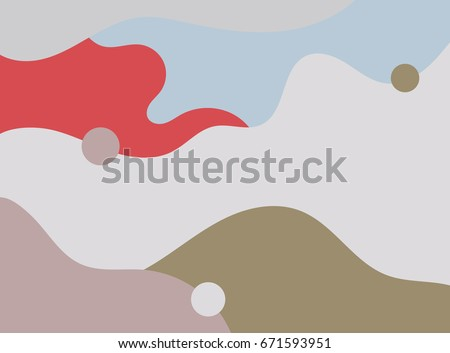 Abstract colors background with abstract waves