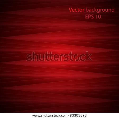 Abstract colourful background from a red glass mosaic