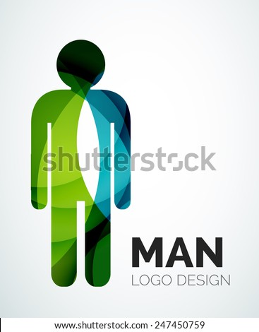 abstract company logo design