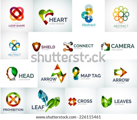 50 Abstract Arrow Symbols For Logo Designs Download Free Vector