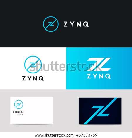 abstract company z letter