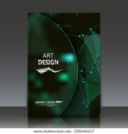 Abstract Composition, Asteroid Icon, Green Sky Theme, A4 ...