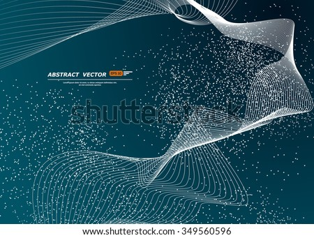 abstract composition  dots