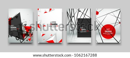 Abstract composition, glory space technology, digital galaxy, light rays radiance, mathematic icon, cosmic math, glitter triangle, shiny geometric flare, effulgence figure, luster sheen, red, vector