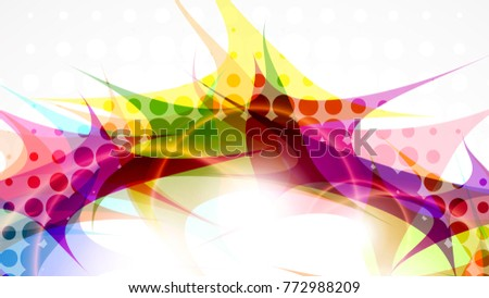 Stock Photo Abstract composition, halftone effect. Place for text. Background for presentation business card. Full HD 4K wallpaper. Vector EPS10 with transparency