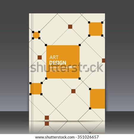 abstract composition  orange