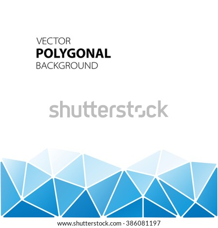 abstract composition  polygonal