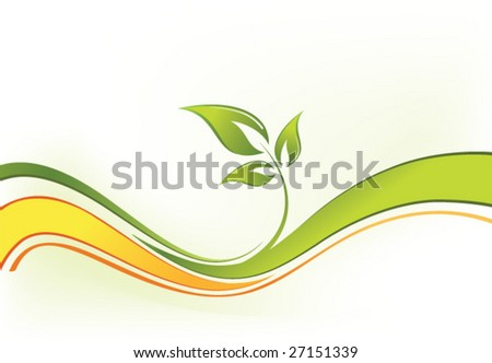 abstract composition. vector background