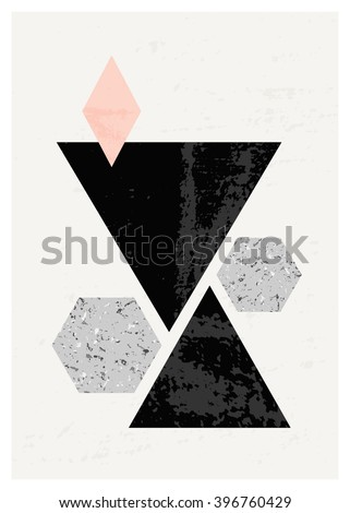 abstract composition with