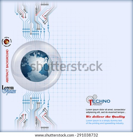 abstract  computer graphic
