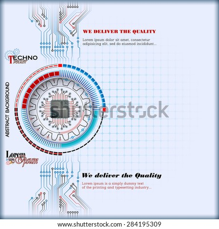 abstract computer graphic with