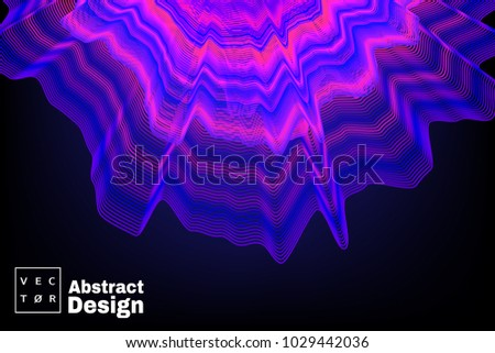 abstract concept design bass