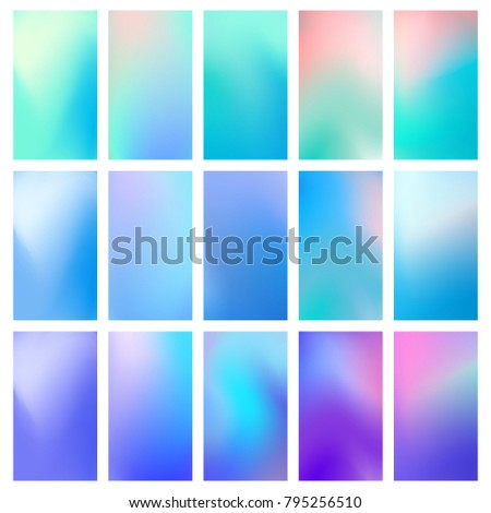 abstract concept multicolored