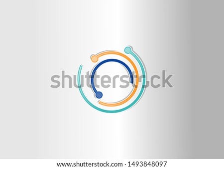 Abstract connect. Vector design Network and Connection concept.