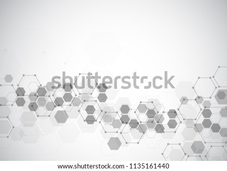 abstract connecting dots and