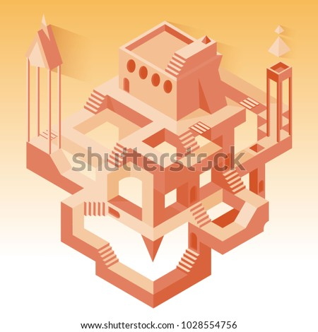 abstract construction with