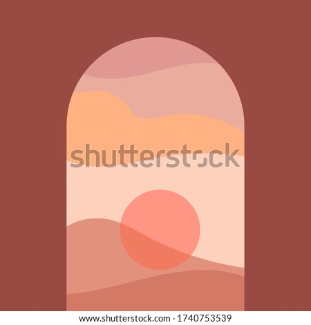 abstract contemporary aesthetic