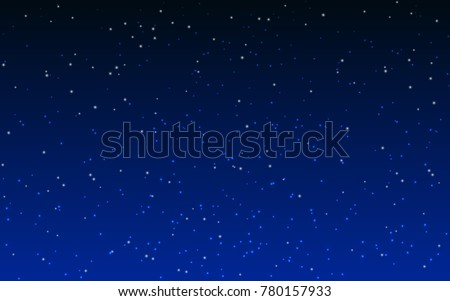Dark blue star background vector download free vector art stock abstract cosmos background with stars vector illustration thecheapjerseys Gallery