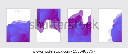 Abstract cover template with gradient design elements. Futuristic abstract modern pattern with fluid colors creating digital art. Bright colored background artistic social media web banner #1355405957