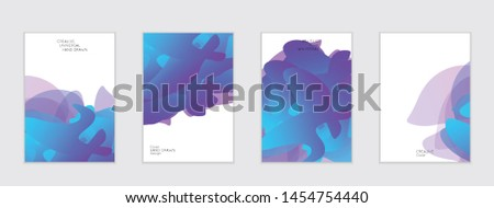 Abstract cover template with gradient design elements. Futuristic abstract modern pattern with fluid colors creating digital art. Bright colored background artistic social media web banner #1454754440
