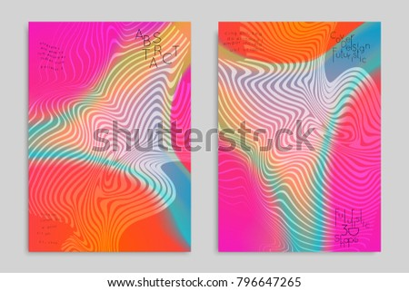 abstract cover template with