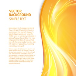 Abstract cover with smooth lines. Vector background, eps 10, contains transparencies.