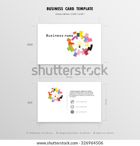 abstract creative business