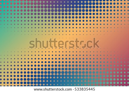 Abstract creative concept vector comics pop art style blank layout template with clouds beams and isolated dots pattern on background. For sale banner, empty bubble, illustration comic book design. #533835445