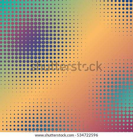 Abstract creative concept vector comics pop art style blank layout template with clouds beams and isolated dots pattern on background. For sale banner, empty bubble, illustration comic book design. #534722596