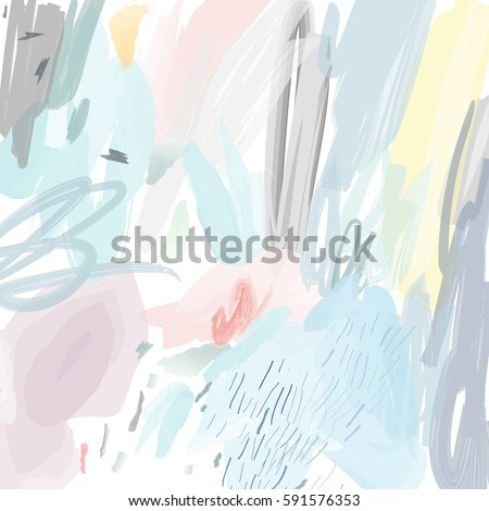 Abstract creative header. Modern artistic background. Contemporary graphic design. Vector.