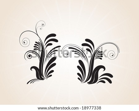 stock vector : abstract creative tattoo, design