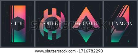 abstract creative templates