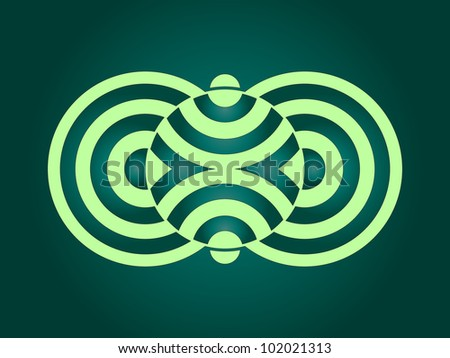 Geometric Circle Wallpaper Abstract Crop Circle Geometric