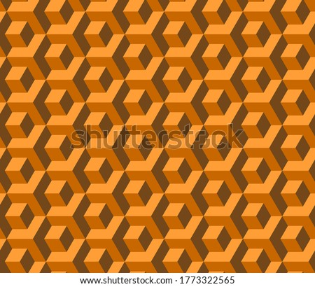 abstract cube pattern in