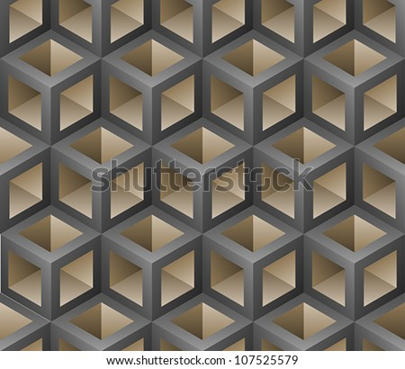 Stock Photo abstract cubes seamless pattern