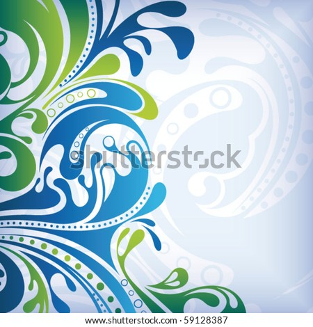 Abstract Curve Background 3