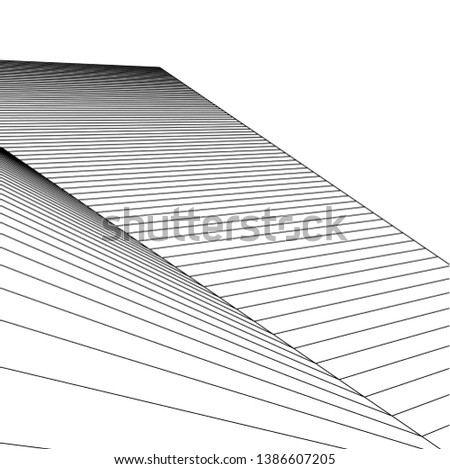 abstract 3d architecture, vector background    #1386607205