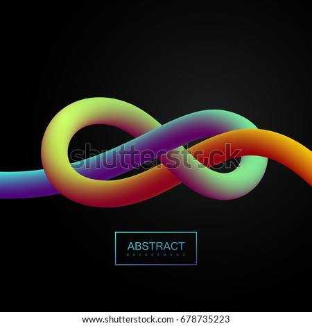 abstract 3d colorful stripe....